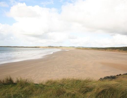 Llanddwyn Beach, Newborough Beach, Anglesey, Wales