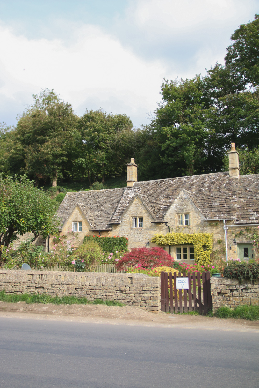 Village of Bibury in The Cotswolds