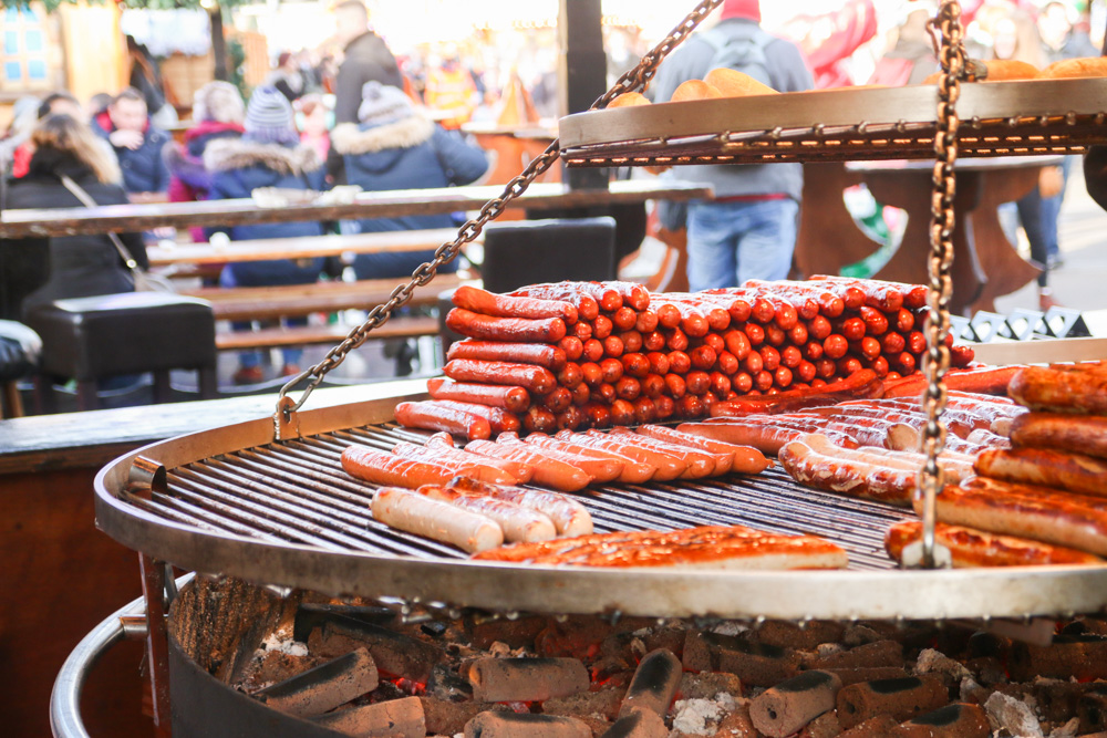 Winter Wonderland London Bratwurst