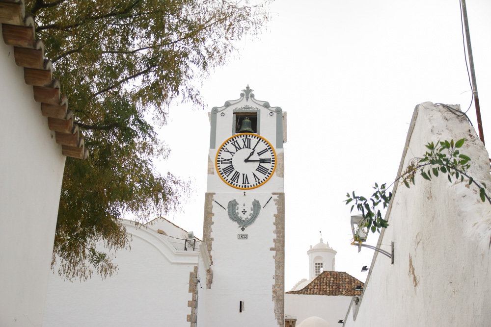 Church of Santa Maria do Castelo in Tavira, The Algarve in Portugal