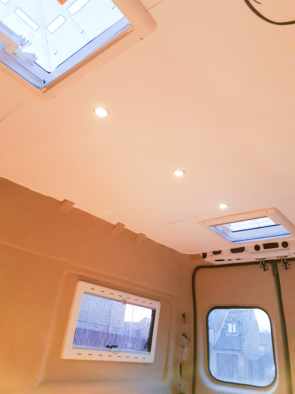 Campervan Conversion Lights