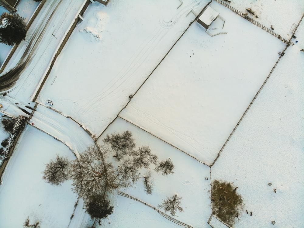 DJI Mavic Air Snow Scenes