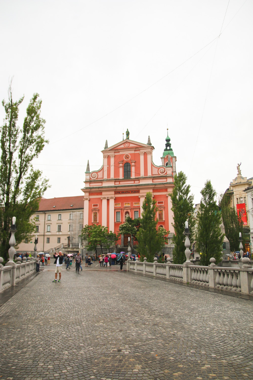 Franciscan Church of the Annunciation Ljubljana, Slovenia