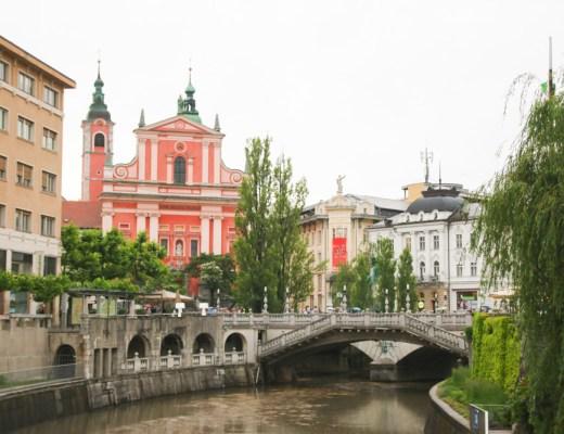 Triple Bridge Ljubljana, Slovenia