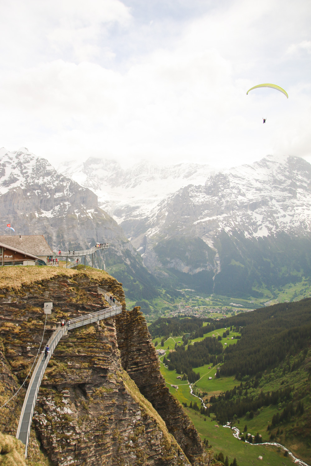 Grindelwald First Cliff Walk, Interlaken