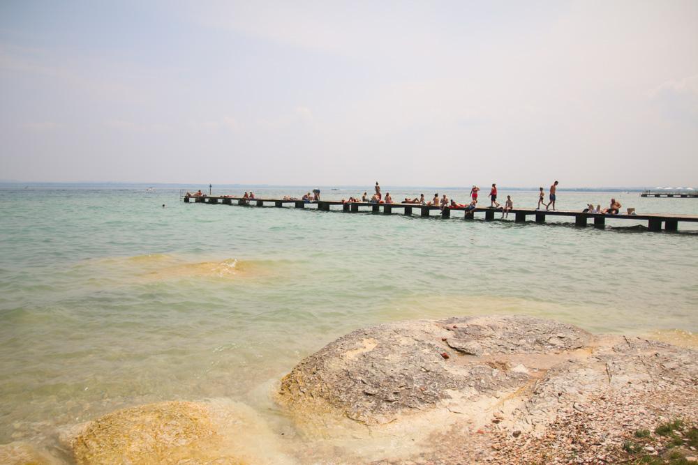 Beaches in Sirmione, Lake Garda