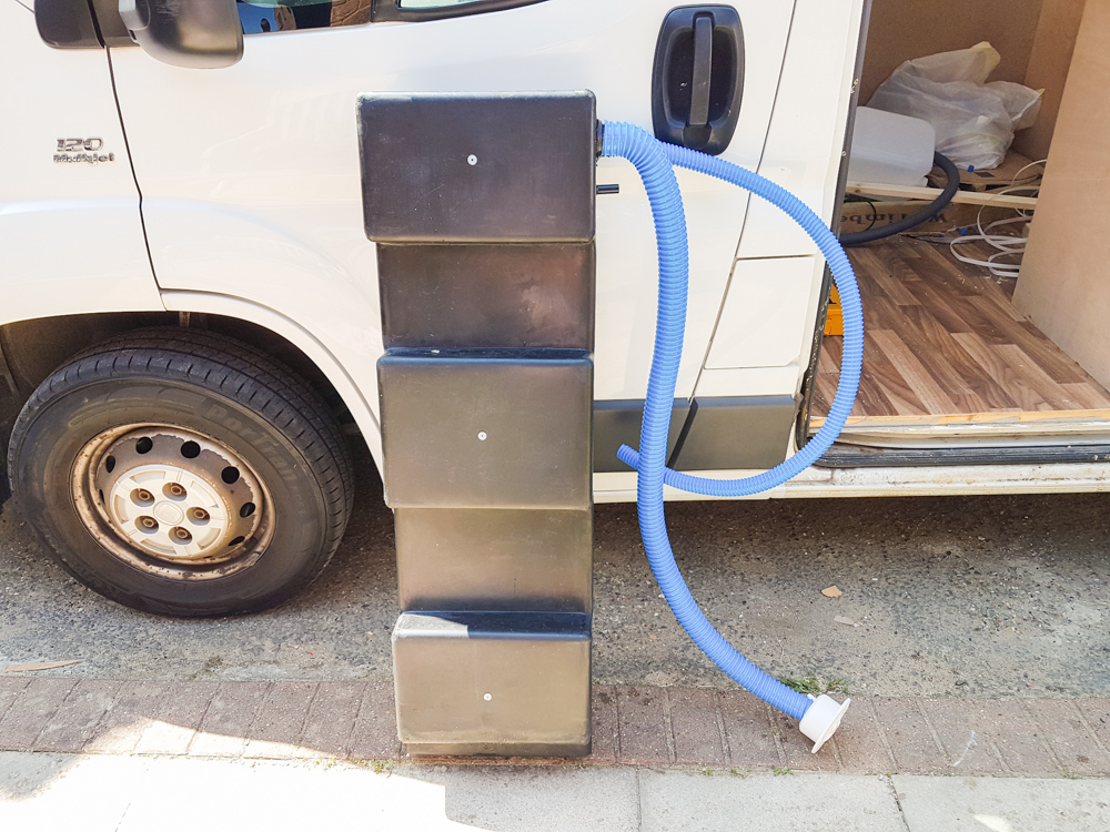 Van Conversion Water Tank