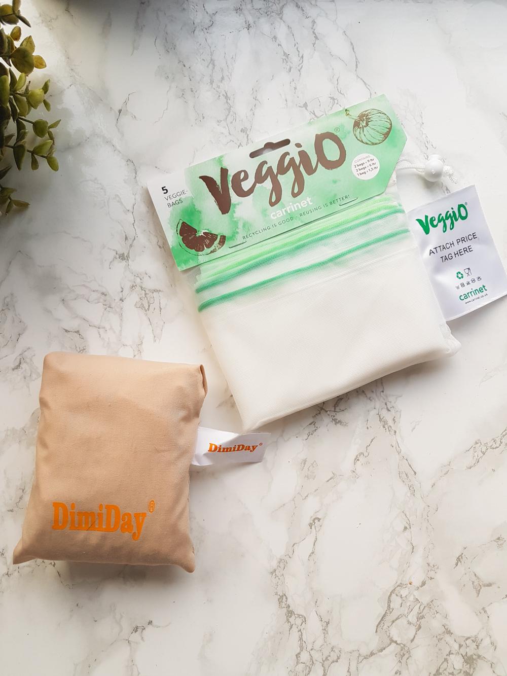 Zero Waste Shopping Bags, Veggie Bags