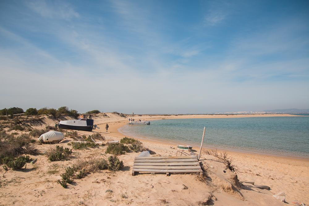 Boat Trip to Ilha Deserta (Barreta Island) Faro, The Algarve