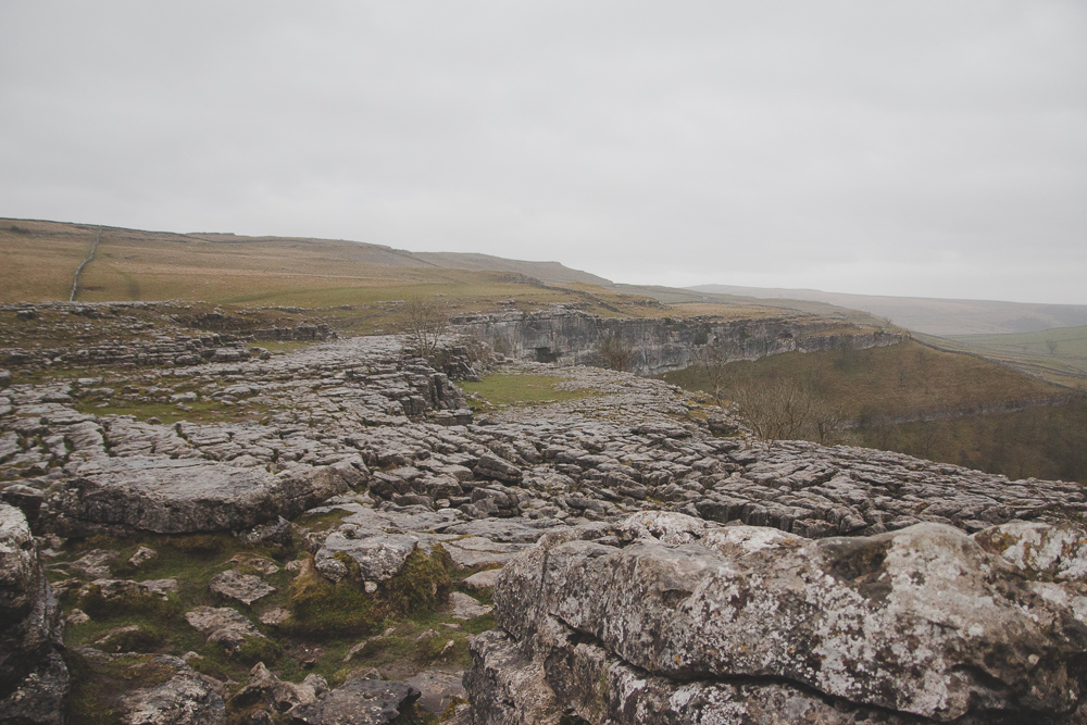 Malham Cove in the Yorkshire Dales National Park