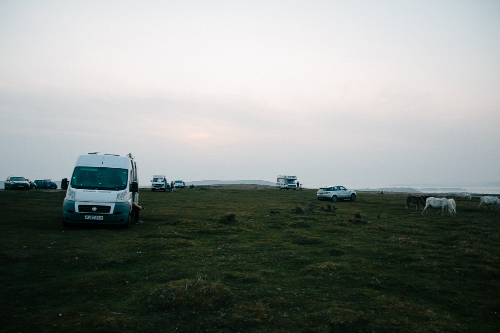 Wild Camping Near Port Eynon, Gower Peninsula