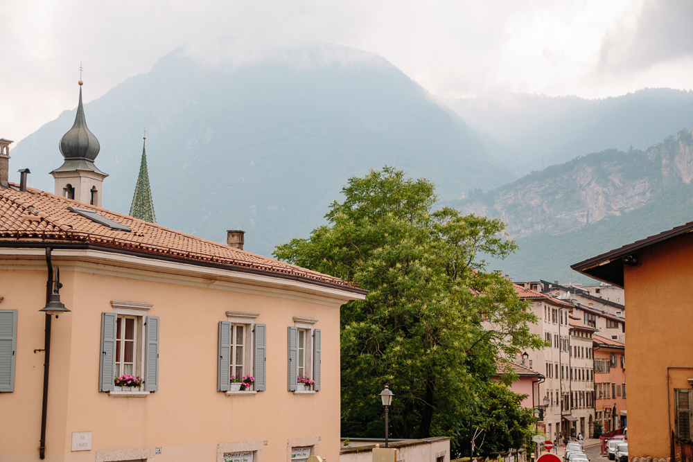 View of Trento in Italy