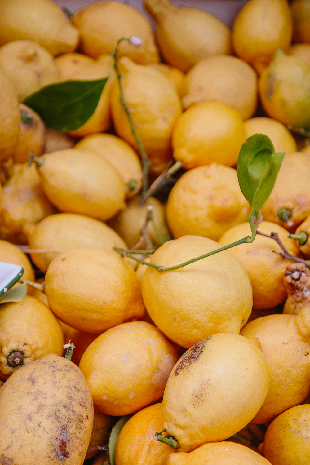 Lemons for Sale in Limone, Lake Garda
