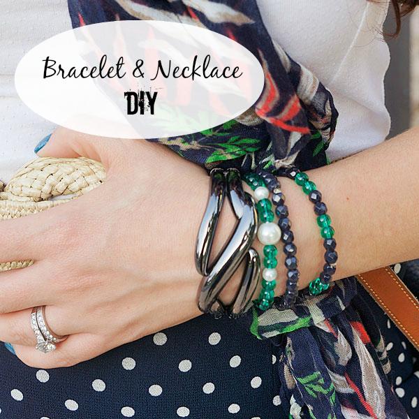 Matching Bracelets & Necklace DIY