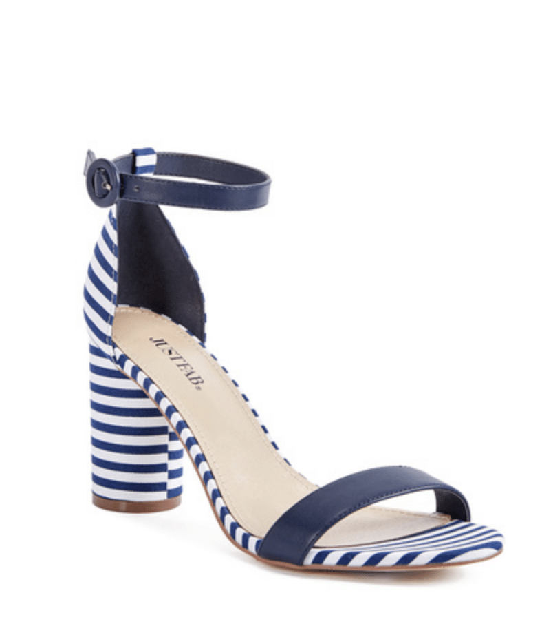 Stripe Sandals