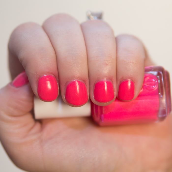 Manicure Monday - Essie Fiesta - April Golightly