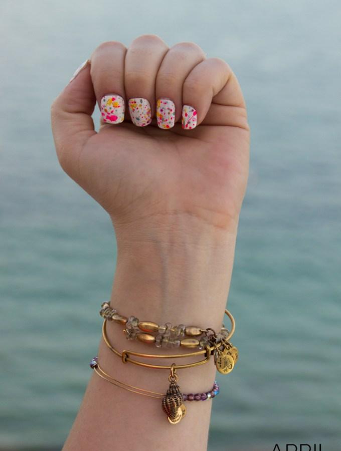 Manicure Monday – Splatter Manicure