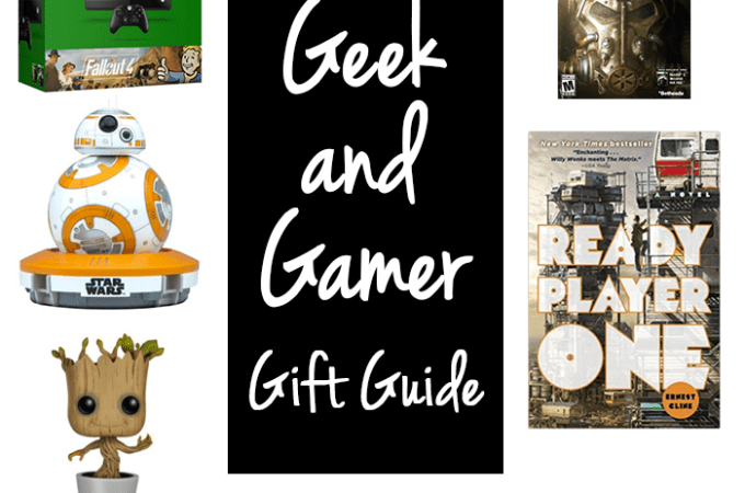 Geek and Gamer Gift Guide