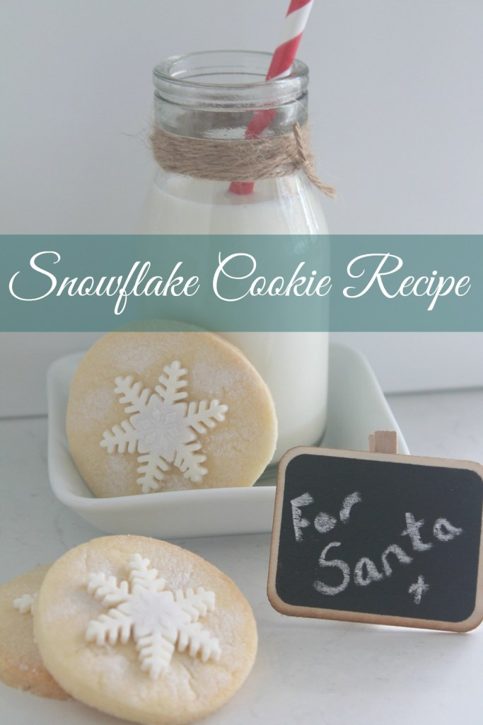 Easy Snowflake Cookie Recipe