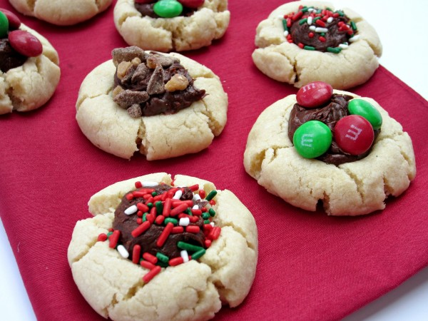 Fudge Thumbprint Cookies Recipe