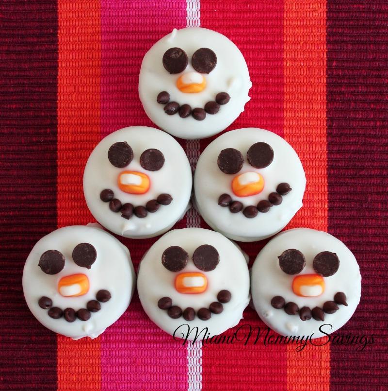 Snowman Oreos