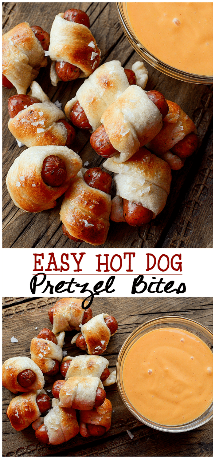 Pretzel Dog Bites Tasty