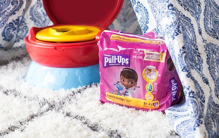 Disney Toilet & No Sew DIY Tent for Potty Training - April Golightly