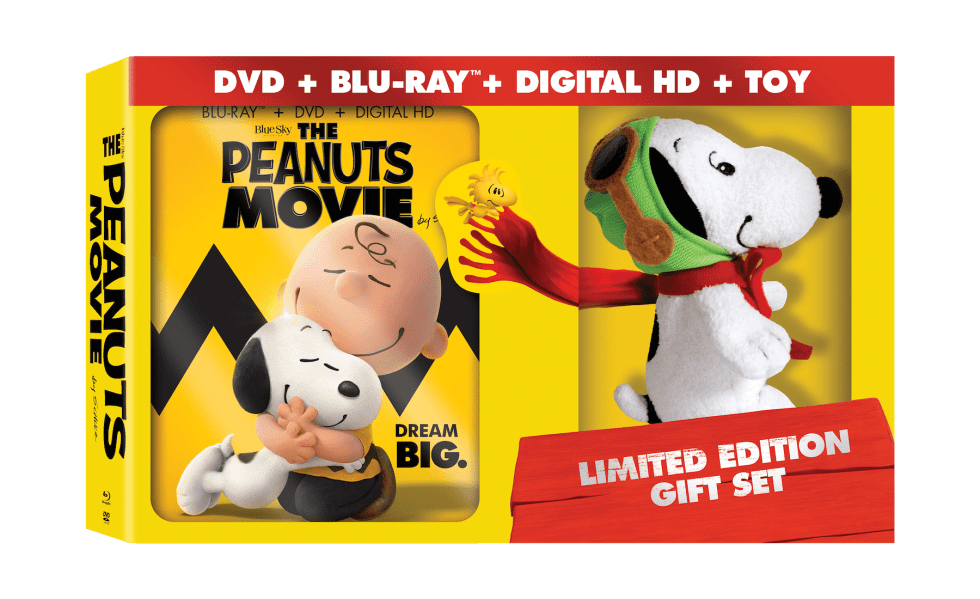Peanuts Movie DVD Release