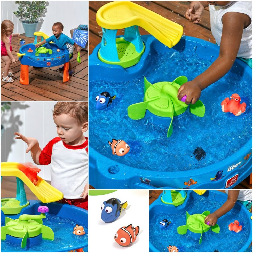 Finding Dory Water Table Swirl