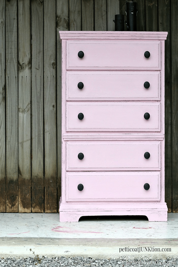 Pink Dresser from Petticoat Junktion
