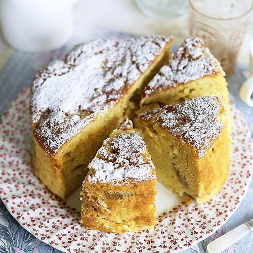 Apricot Pear Cake from Stagetecture