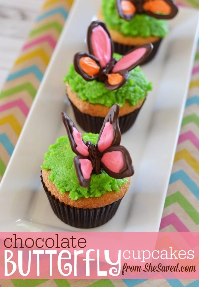 Chocolate Butterfly Cupcake Recipe