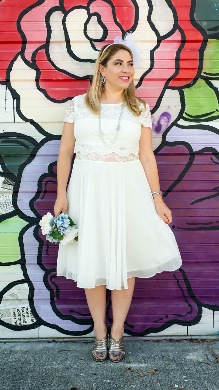 Short Wedding Dress for Reception