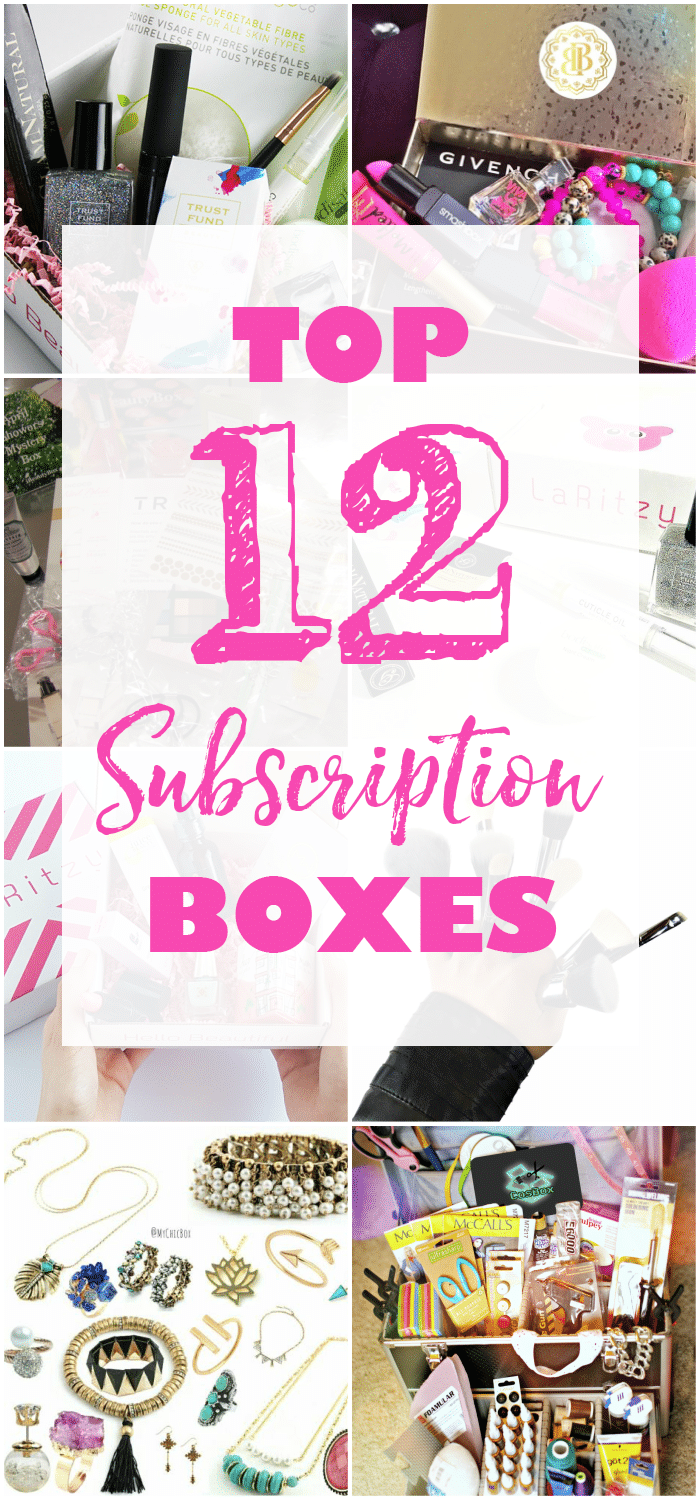 Top 12 Subscription Boxes April Golightly