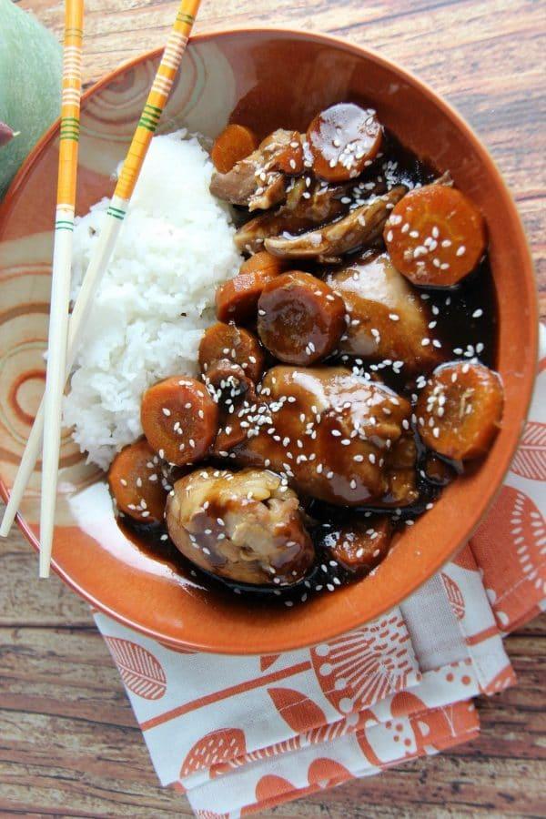 Slow Cooker Hoisin Chicken Recipe