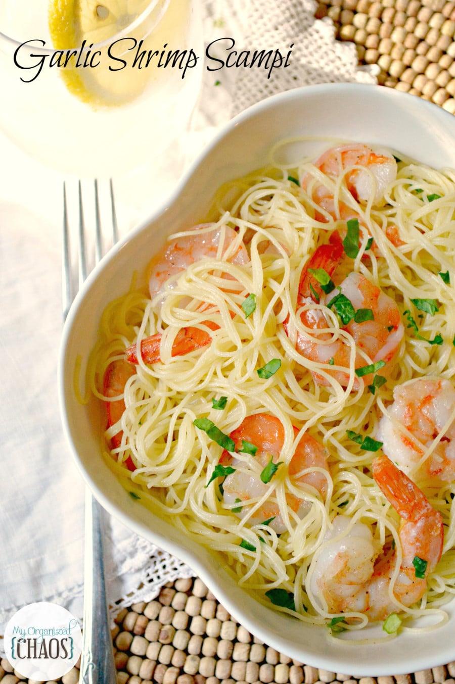 Garlic Shrimp Scampi Asian Recipe