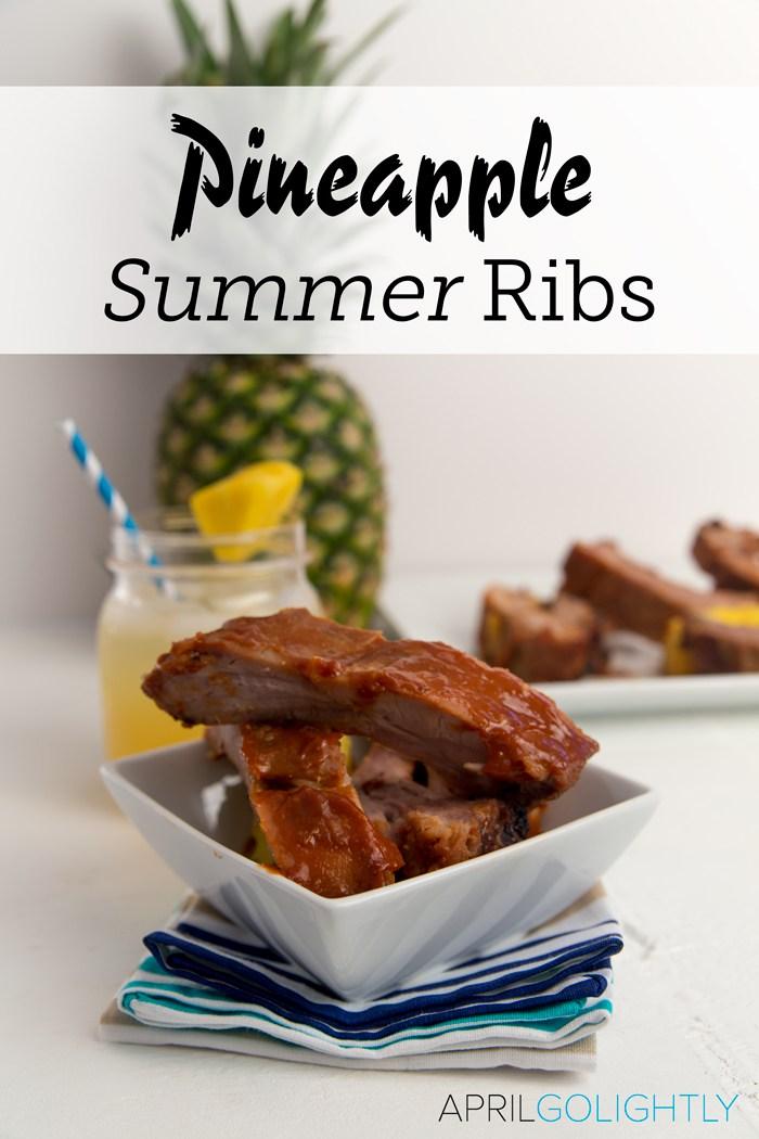 Pineapple Asian Summer Ribs Recipe