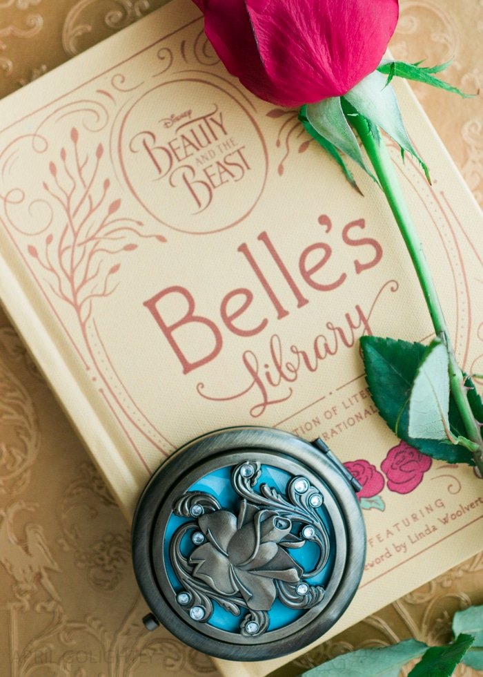 Beauty and the Beast Gift Ideas - compact mirro