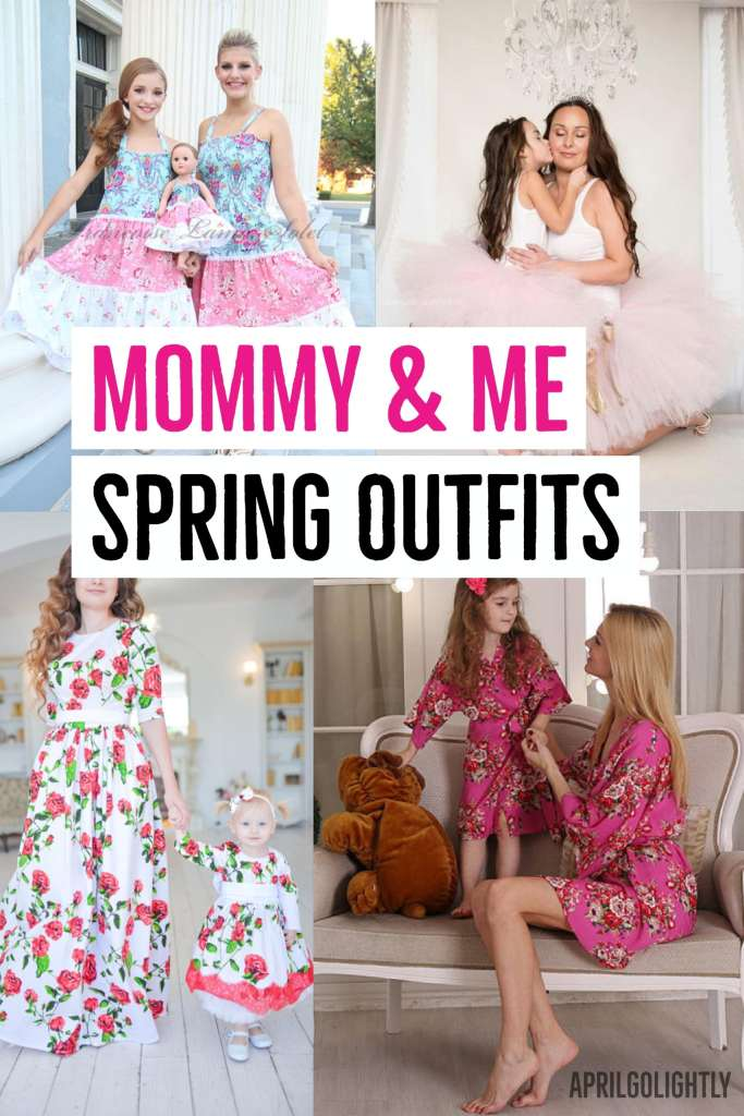 MOMMY and me matching outfits for spring and Easter