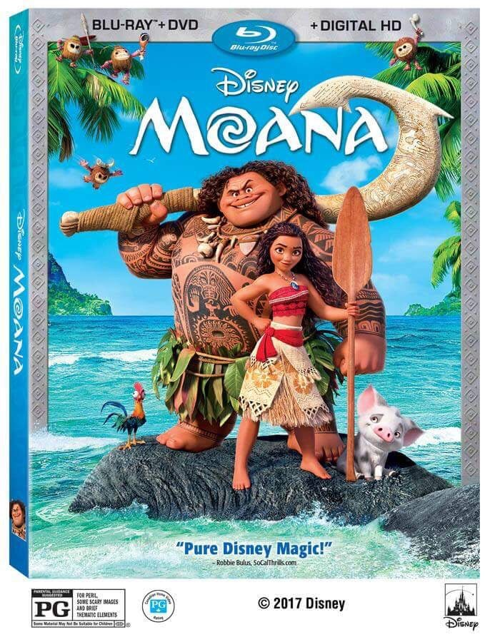 Moana Blu-Ray Release and Review!