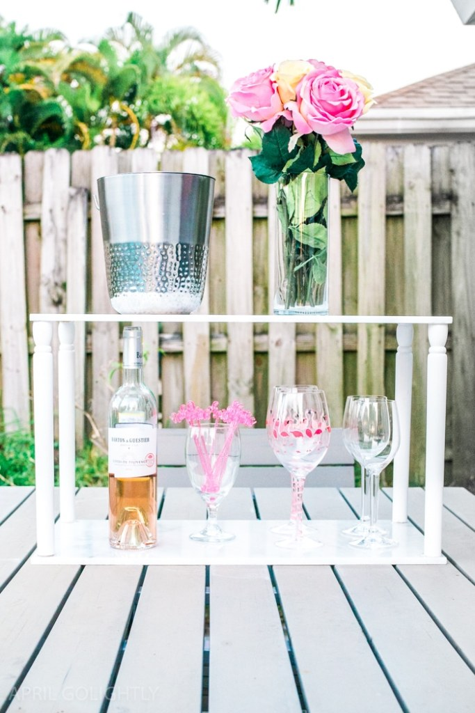 Marble DIY Table Top Tiered Server