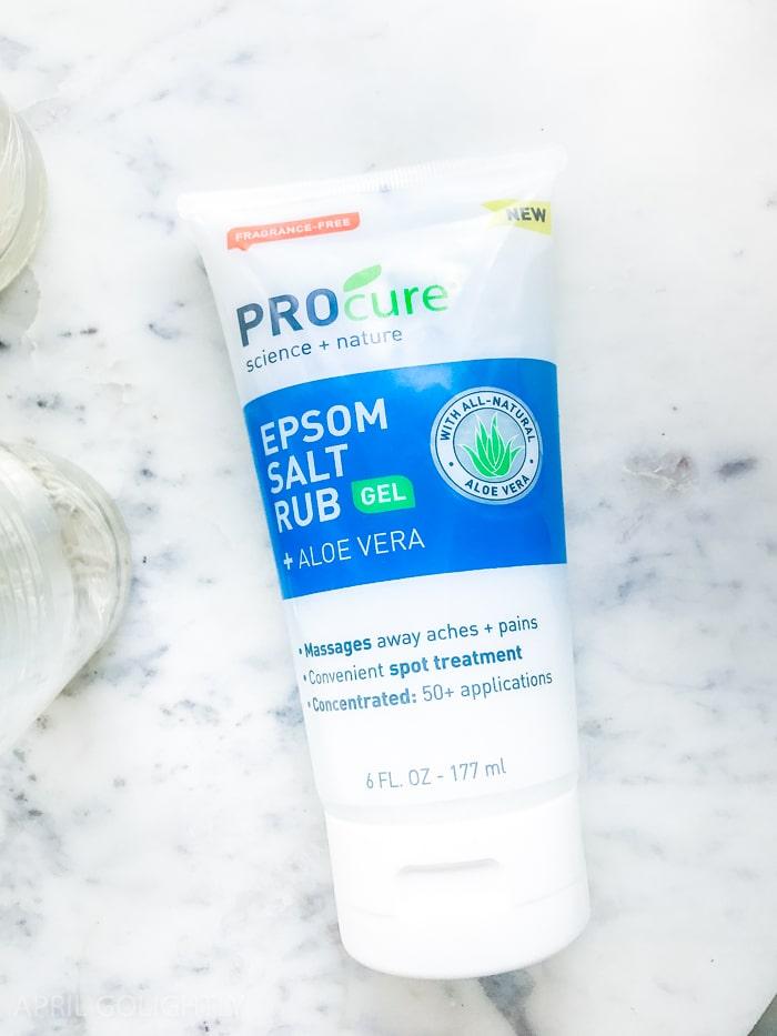 PROCure Epsom Salt Rub