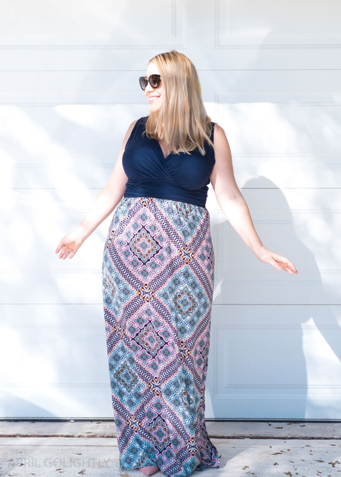 How to Hem a Maxi Dress if you are short