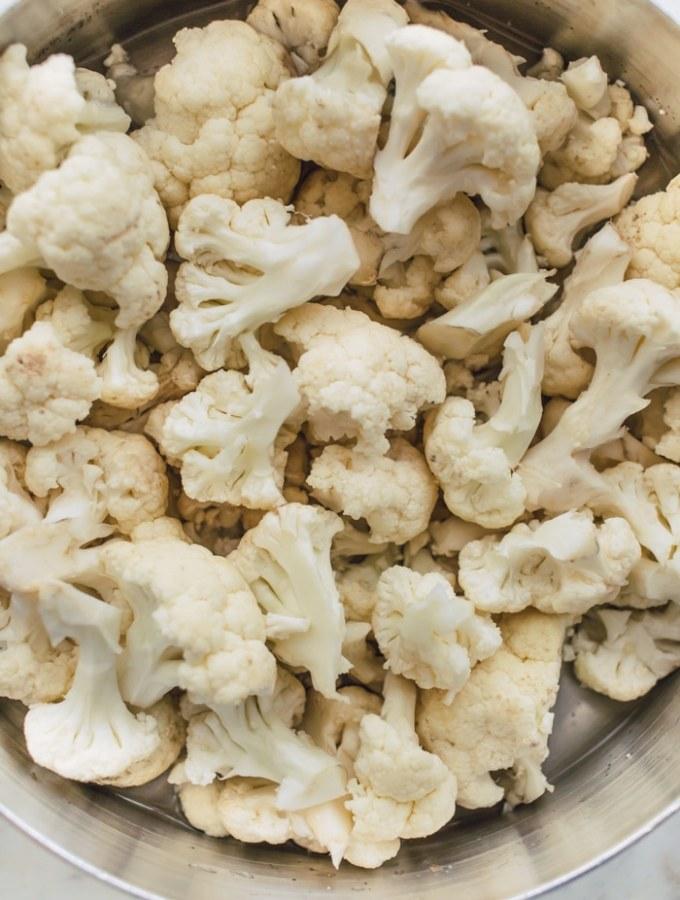 Parmesan Cauliflower Casserole