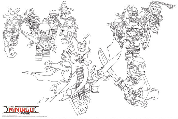 ninjago coloring page choice image wallpaper and free
