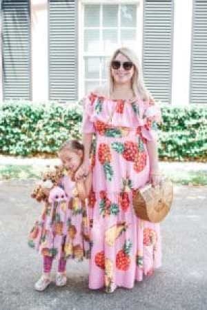 Mommy and Me Dolce and Gabbana Matching