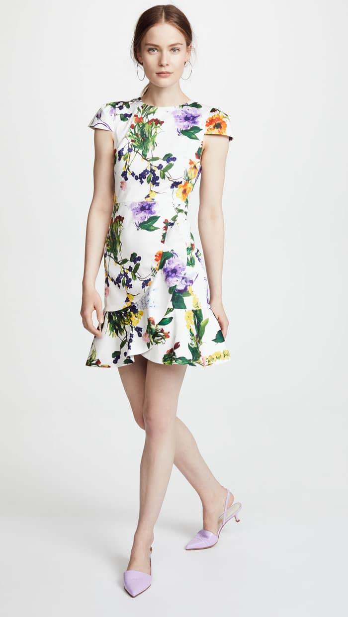 Fresh Floral Dress for Spring