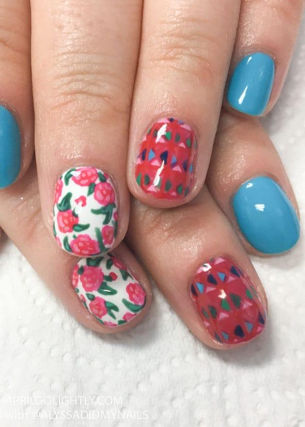 Designer Nails Dolce and Gabbana
