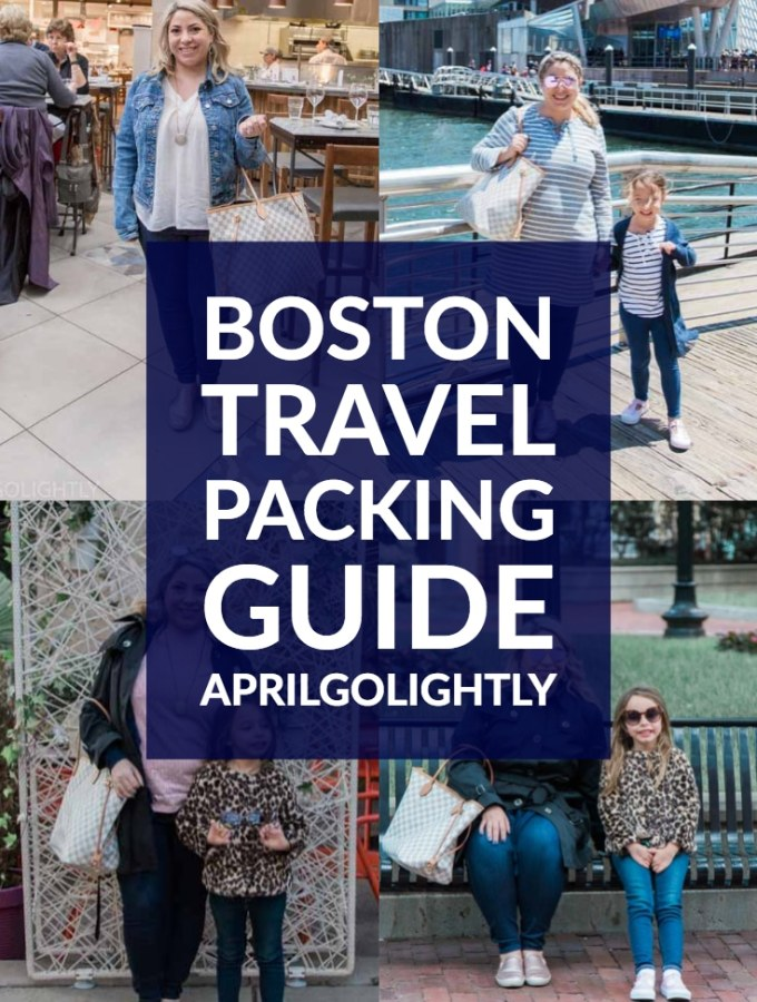 Boston Travel Packing Guide