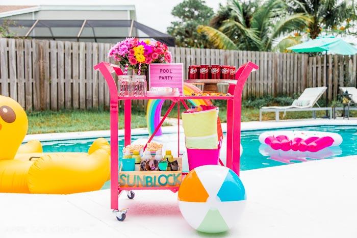 Party Bar Cart